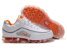 online retailer 7bf93 590cc Best Prices Nike Air Max Premium Mens Trainers Sneaker White Orange For Sale