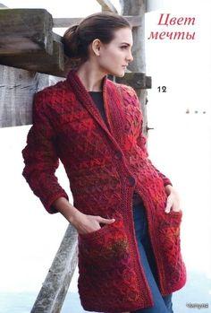 patrones de Cardigan: revista de tejer, tejer patrones libres de derechos | hacer a mano, ganchillo,