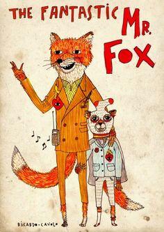 Fantastic Mr Fox by Ricardo Cavolo