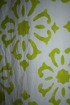I really love the look of woodblock print inspired curtains from stores like West Elm, World Market, and Anthropologie. Stencil Diy, Stencils, Stenciled Curtains, Woodblock Print, Window Treatments, Crafts, Home Decor, Manualidades, Decoration Home