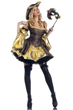 Be Wicked Black Antoinette Medium/Large - Black Antoinette includes Halter top, detached sleeves, hat, skirt by Be Wicked. Costumes Sexy Halloween, Wicked Costumes, Sexy Costumes For Women, Halloween Fancy Dress, Adult Costumes, Adult Halloween, Costumes 2015, Fun Costumes, Halloween 2013