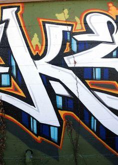 Graffiti in East Austin Art Print by Linda Flores