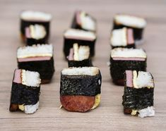 Spam musubi - Obsessive Cooking Disorder