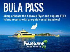 Yasawas Freestyle! Board the Yasawa Flyer and explore Fiji's islands. #holiday #vacation #islands #fiji #hop #resorts #bula #pass #awesomeadventuresfiji #travel #ideas #transport