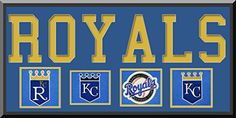 Kansas City Royals Team Wool Blend Fabric Logos Throughout The Years With Team Name & Team Color Double Matting-Awesome & Beautiful Large Picture-Most MLB Team Banners Available-Plz Go Through Description & Mention In Gift Message If Need A different Team Art and More, Davenport, IA http://www.amazon.com/dp/B00LL1ORE2/ref=cm_sw_r_pi_dp_Z7hDub1ZT8XFP