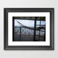 Hammock Framed Art Print by Lisa De Rosa-Essence of Life Photography - $35.00