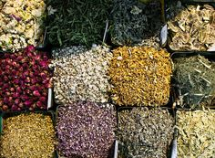 Lovely dried herbs