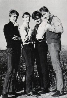 very young Beatles