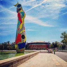 Parc de Joan Miró & Las Arenas, Barcelona