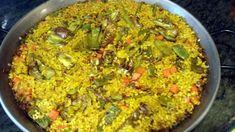 """""""Paella"""" de verduras a inducción, al estilo de Mariaje"""