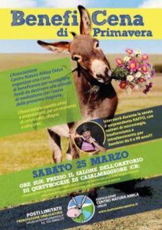 BenefiCena di Primavera a Casalmaggiore CR http://www.panesalamina.com/2017/54141-beneficena-di-primavera-a-casalmaggiore-cr.html