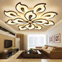 New Modern led ceiling lights for living room bedroom Plafon home Lighting combination White and Black home Deco ceiling lamp House Ceiling Design, Ceiling Design Living Room, Bedroom False Ceiling Design, Home Ceiling, Home Room Design, Living Room Lighting, Home Lighting, Living Room Designs, House Design