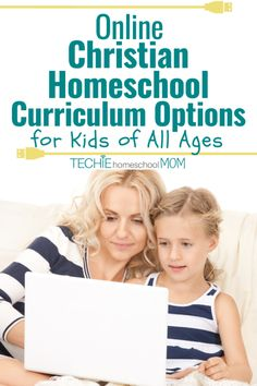 10 Online Christian Homeschool Curriculum Options for Kids of All Ages - Techie Homeschool Mom Online Homeschool Programs, Best Homeschool Curriculum, Online Homeschooling, Science Curriculum, Christian School, Christian Families, Christian Homeschool, Christian Parenting, Bible