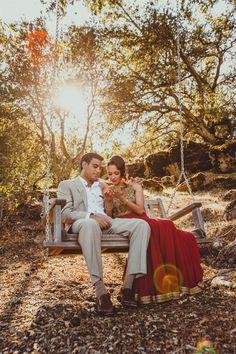 Neetal & Saumil's Intimate, Chic Indian Wedding {California}