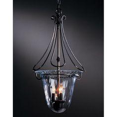 Draped Loop Foyer Pendant Hubbardton Forge Bell/Urn Pendant Lighting Ceiling Lighting