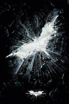 Póster Batman: The Dark Knight Rises, logo