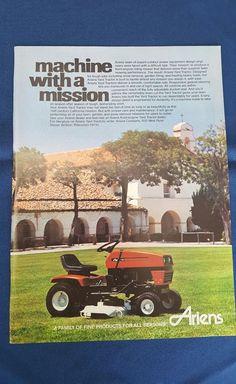 vintage Ariens lawn mower ad #Ariens