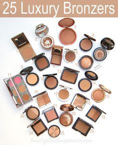Best Bronzers: 25 Luxury Bronzers. - Home - Beautiful Makeup Search: Beauty Blog, Makeup Reviews, Beauty Tips