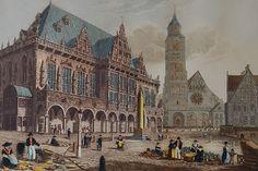 Stahlstich 1828 von J. Godden. Nach einer Zeichnung von Capt. Batty