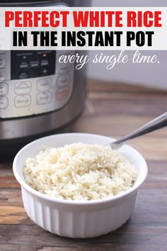 Perfect Rice in the