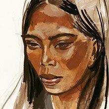 Fatima by Titouan Lamazou