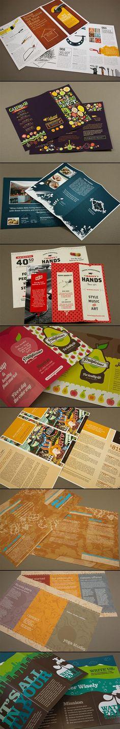 30+ Well-designed Tri-fold Brochures