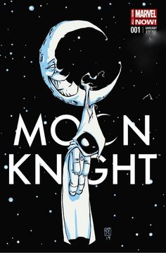 Good Knight, Moon ... Moon Knight #1 variant cover Skottie Young