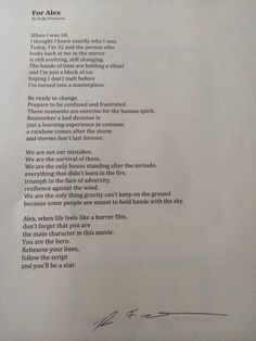 Rudy Francisco Wrote This Poem Just For You & Fed Ex It Here So You Would Have It On Your Graduation Day❤️  There Are Amazing Men In This World #RudyFrancisco