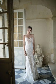 "Alon Livne White - 2016 Collection - ""Diana"" wedding dress. #wedding #dress #gown #bride"