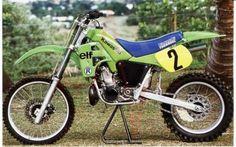 Georges Jobe Kawasaki SR 500cc. 1985