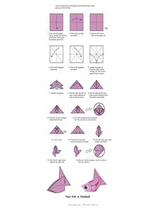 Customize Your Free Printable Fish Origami