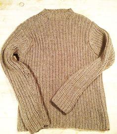 vintage j crew hand knit sweater