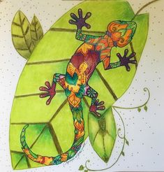 #magicaljungle #johannabasford #coloringforadults #prismacolorpencils