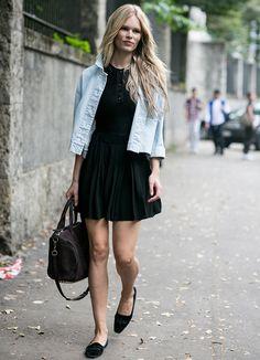 6 looks estilos para usar com sapatos sem salto! - QUE LOOK USAR