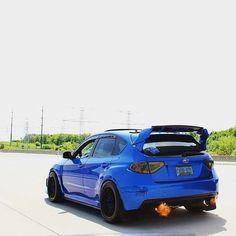 Definitely want a wing like that. Subaru Wrx Hatchback, Subaru Impreza, Wrx Wagon, Jdm Cars, Subaru Cars, Street Racing Cars, Car Goals, Wrx Sti, Sweet Cars