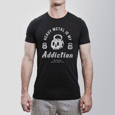 Addicted to Heavy Metal // Black