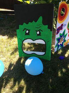 Frugalista Mamas: Super Hero Birthday Party Ideas