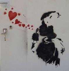 Banksi Art.
