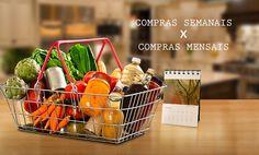 """Texto para o blog do Supermercado SuperPrix sobre compras: """"Comprar toda semana ou uma vez por mês, eis a questão"""". Clique na imagem e veja o texto na íntegra."""