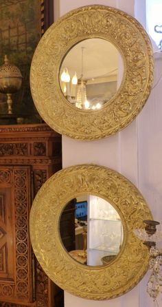 miroir barbier rond ou ovale am pm d co pinterest barbier miroirs et finition nickel. Black Bedroom Furniture Sets. Home Design Ideas