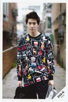 HE IS JUST TOO ADOREABLE<3 SUHO EXO that forehead is like heaven o-o
