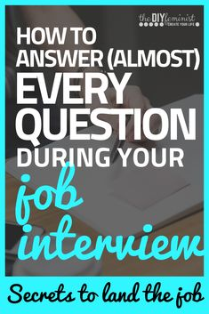 This career advice from a professional will teach you how to answer job interview questions with a simple, easy to remember formula! Job Interview Answers, Behavioral Interview Questions, Job Interview Preparation, Job Interview Tips, Job Interviews, Outfits For Job Interview, Prepare For Interview, Interview Weakness Answers, Simple Interview Questions