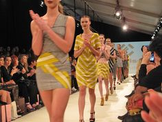 Frantisek was one of the designers that was showing in wellington fashion week. The collection included alot of dresses & skirts, The colors were grey & yellow & black & grey, They had patterns in their clothing which were mainly stripes & zigzags.