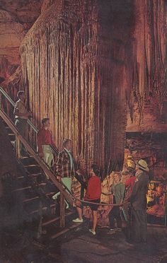 Frozen Niagara in Mammoth Cave - Mammoth Cave, Kentucky  Went there as a kid--Timm