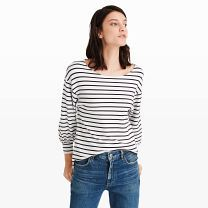 Elouize Top - At once soft and substantial, the Elouize updates your favorite T-shirt with a chic, blouson sleeve.