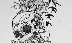 This is a sugar skull