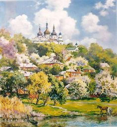 Painter Nadia Poluyan-Vnukova (Надія Полуян-Внукова)