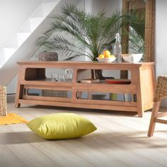 TV-Unterschrank Teak finish 160 Fudji Tikamoon
