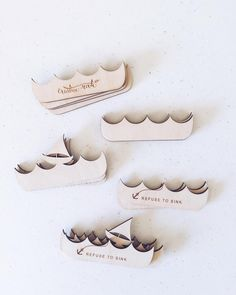 Assembly line. Building the boat. Refuse to sink!  #lasercut #boat #inspiration #woodart by creativeroute