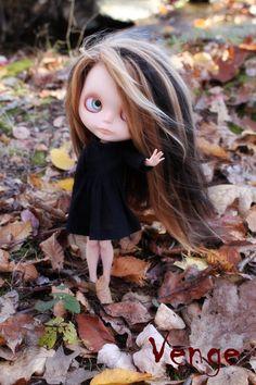 OOAK Custom Blythe Art Doll - Venge